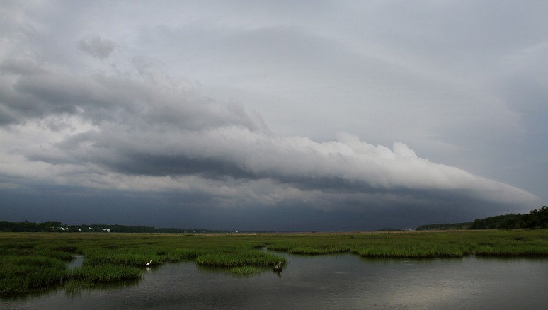 Storm Clouds at the Marsh
