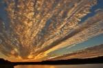 Sunset at the Marsh Pond